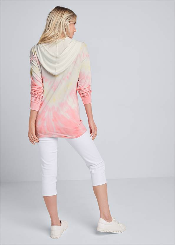 Full back view Lounge Tie Dye Pullover