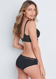 Cropped back view Wirefree Comfort Bra
