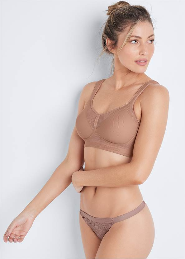 Cropped front view Wirefree Comfort Bra