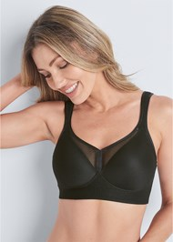 Waist Up front view Wirefree Comfort Bra