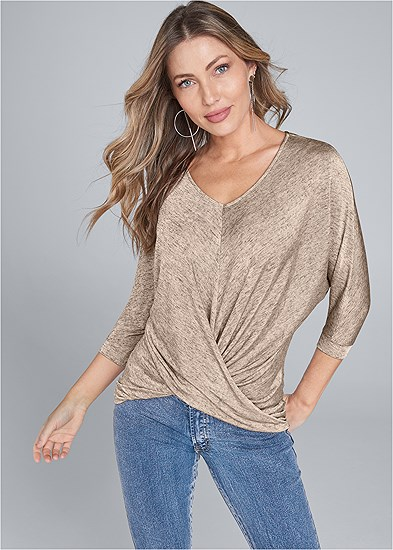 Twist Detail Top