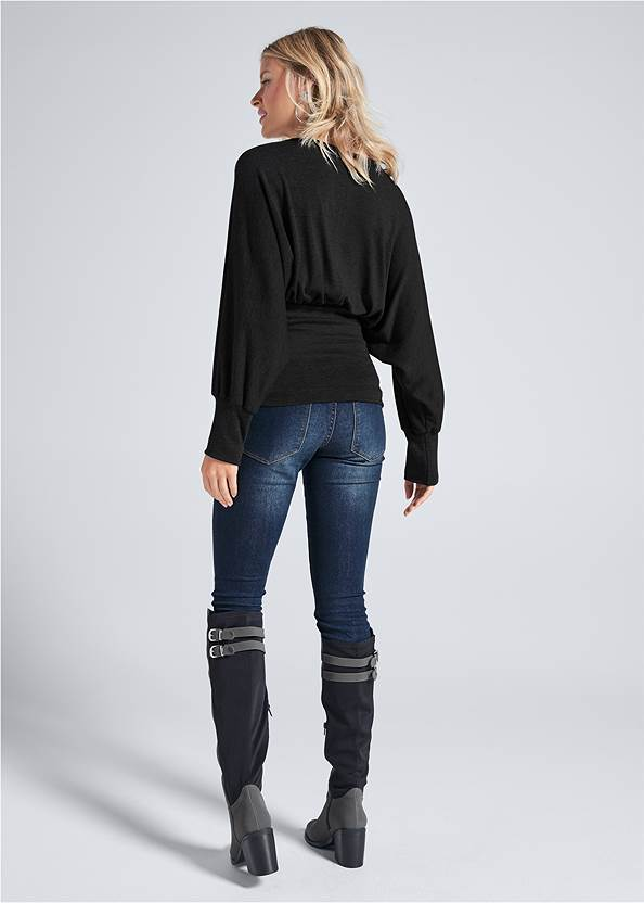 Back View Casual Top