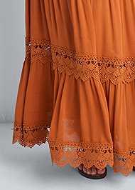 Alternate View Tiered Smock Maxi Dress
