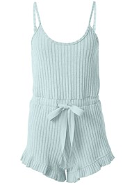 Alternate View Cozy Rib Knit Lounge Romper