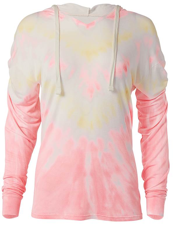 Ghost with background  view Lounge Tie Dye Pullover