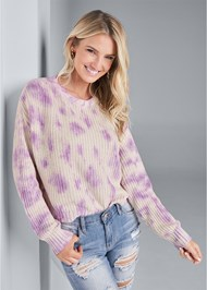 Alternate View Oversized Tie Dye Sweater