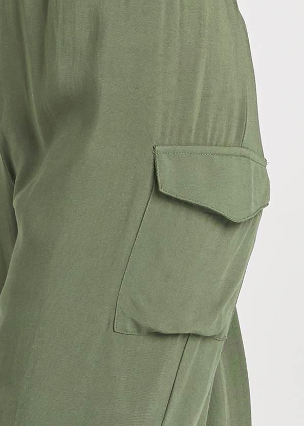 Alternate View Strapless Utility Jumpsuit