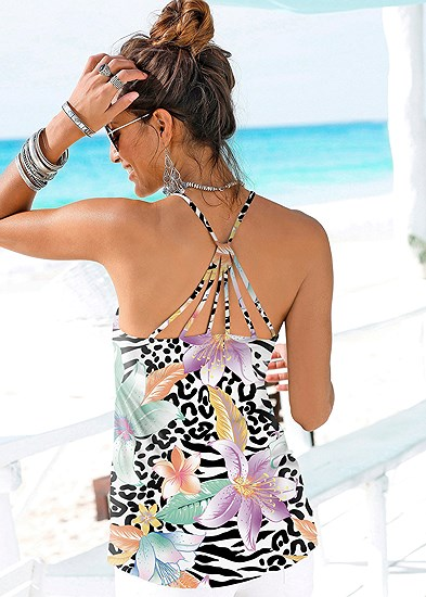 Back Detail Printed Tank