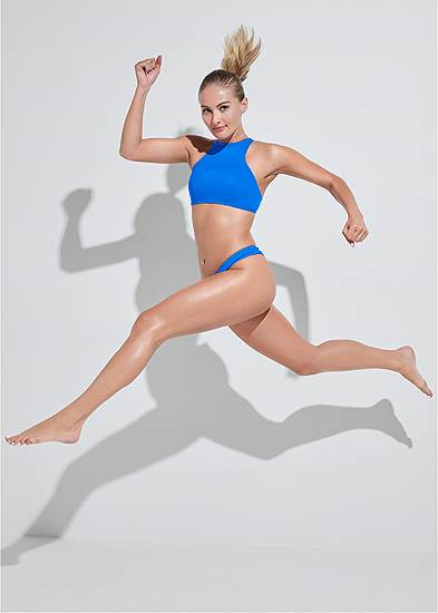 Sports Illustrated Swim™ High Neck Sport Top