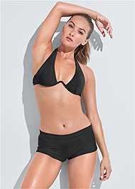 Front View Sports Illustrated Swim™ Continuous Underwire Bra Top
