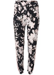 Ghost with background  view Lace Trim Sleep Pants