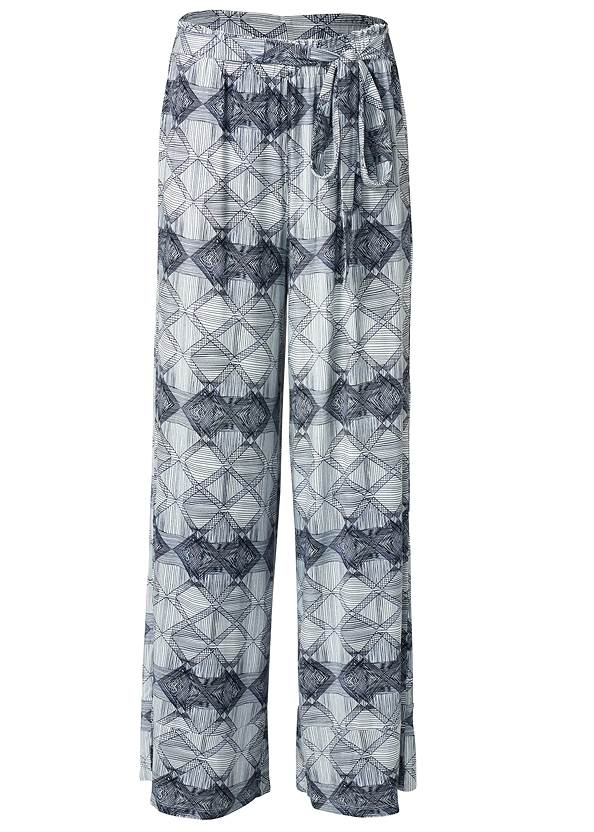 Ghost with background  view Tie Sleep Pants