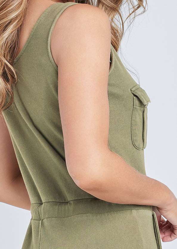 Alternate View Mineral Wash Utility Jumpsuit