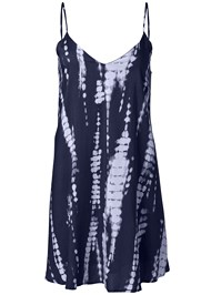 Alternate View Tie Dye V-Neck Shift Dress