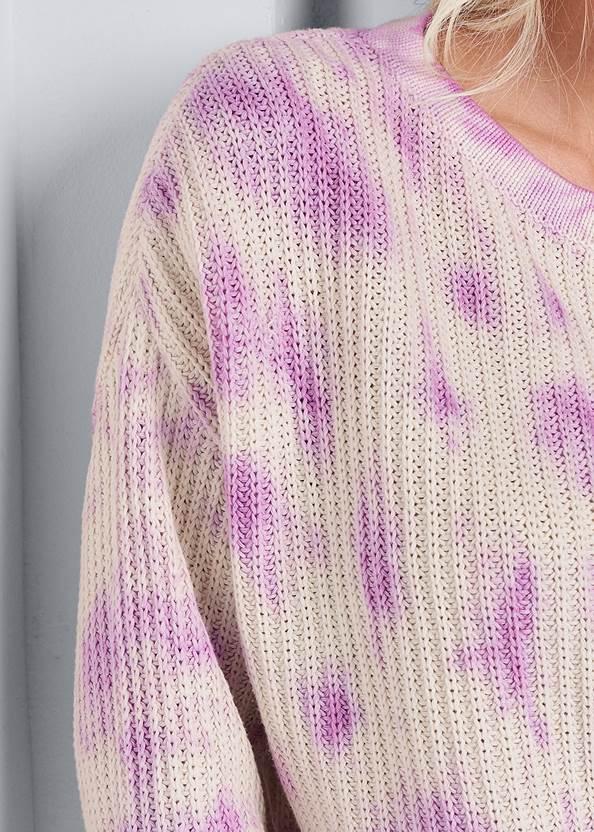 Alternate View Oversized Tie Dye Sweater