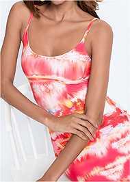 Detail  view Batik Printed Maxi Dress