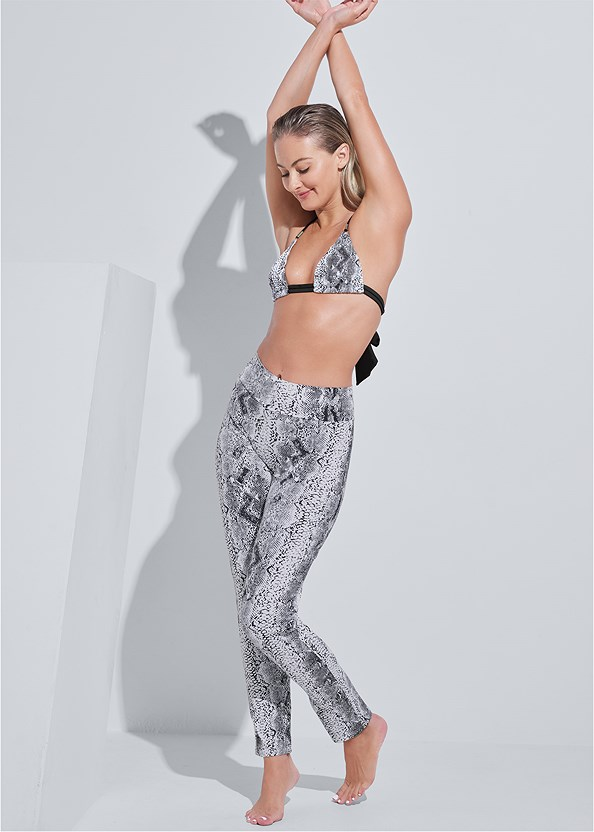 Sports Illustrated Swim™ Swim Pants,Sports Illustrated Swim™ Double Strap Triangle Top