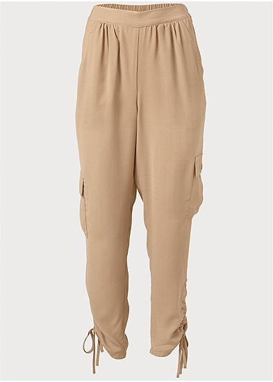 Plus Size Lightweight Cargo Pants