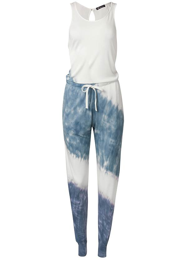 Alternate View Ombre French Terry Jumpsuit