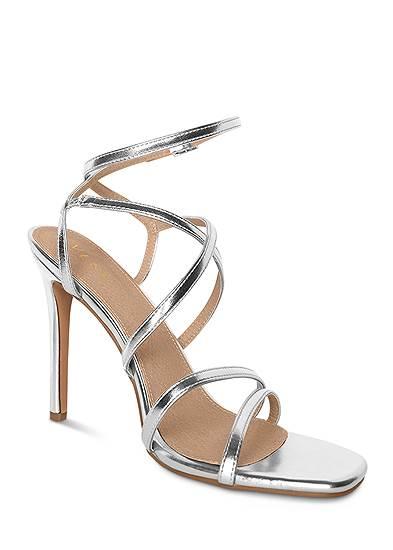 Multi Strap Ankle Wrap Heels