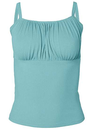 Plus Size Ribbed Basic Top