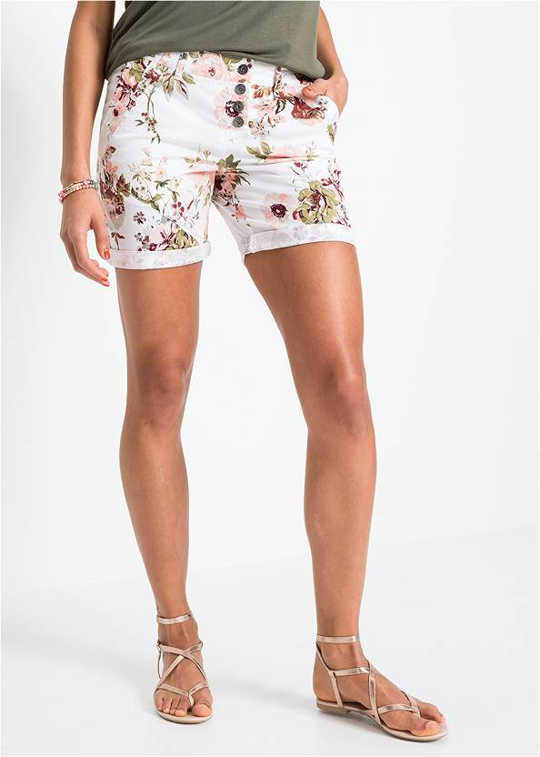 Alternate View Rolled Cuff Shorts