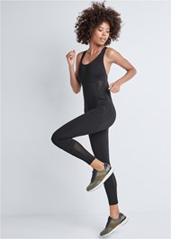 Full  view Workout Jumpsuit