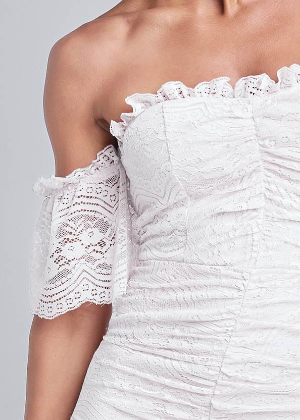 Alternate View Off Shoulder Lace Dress