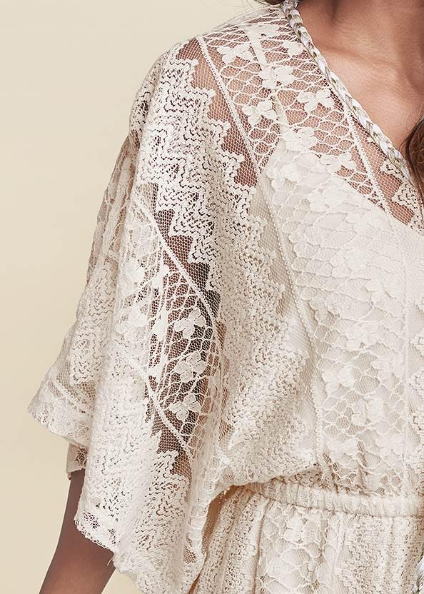 Detail front view Crochet Romper