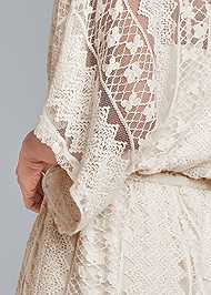 Detail back view Crochet Romper