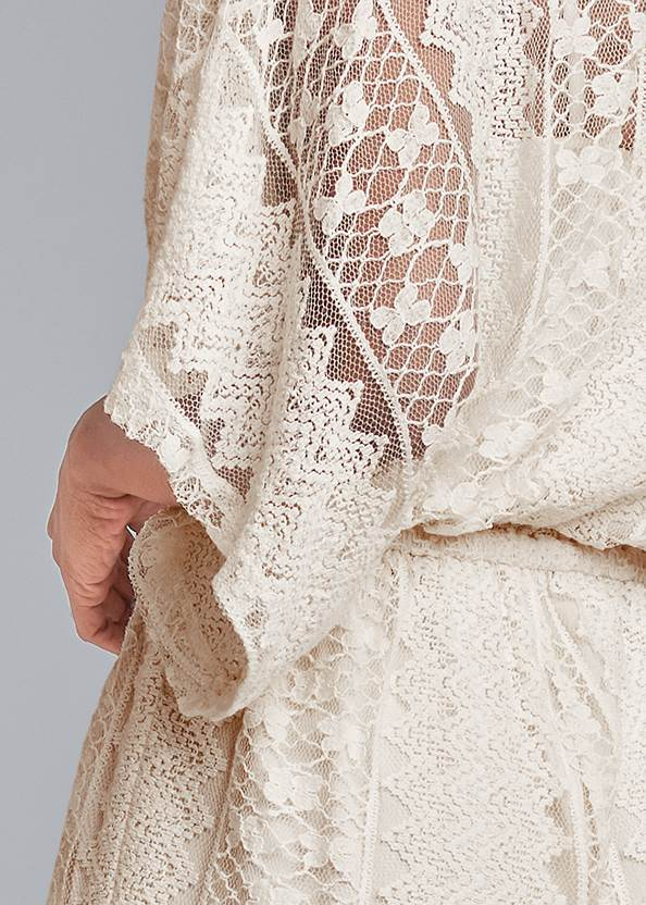 Detail back view Crochet Romper
