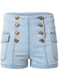 Ghost with background  view Cargo Sailor Shorts