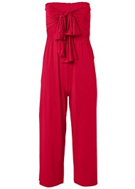 Ghost with background  view Smocked Tie Front Jumpsuit