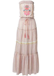 Ghost with background  view Embroidered Maxi Dress