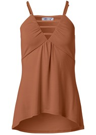 Ghost with background  view Strappy Sleeveless Top