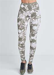 Detail front view High Waisted Active Legging