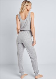 Back View Cozy Hacci Jumpsuit