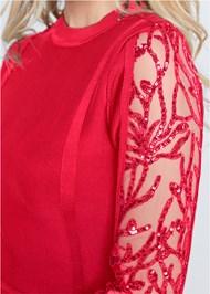 Alternate View Lace Bandage Dress