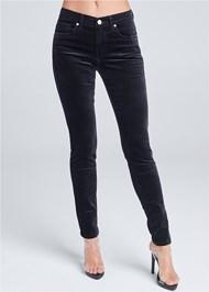 Front View Velvet Pants