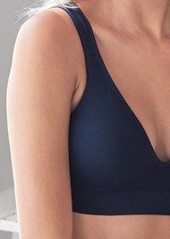 Detail front view Seamless Lace Comfort Bra