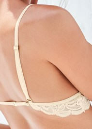 Detail back view Lace Bralette Panty Set