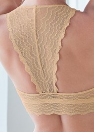 Detail back view Lace Bralette