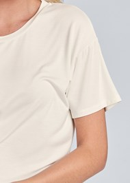 Detail front view Sleep T-Shirt