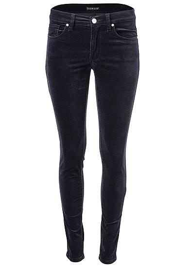 Plus Size Velvet Pants