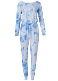 Ghost with background  view Easy Lounge Jumpsuit