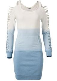 Alternate View Ombre Slash Sleeve Lounge Dress