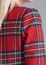 Alternate View Plaid Blazer