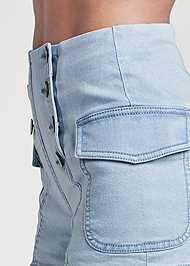 Detail side view Cargo Sailor Shorts