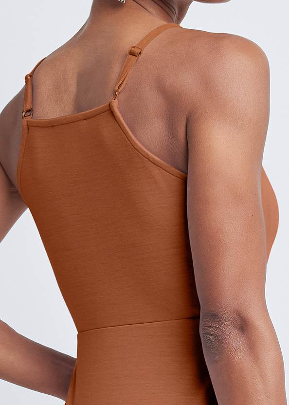 Detail back view Strappy Sleeveless Top