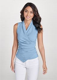 Front View Surplice Detailed Top